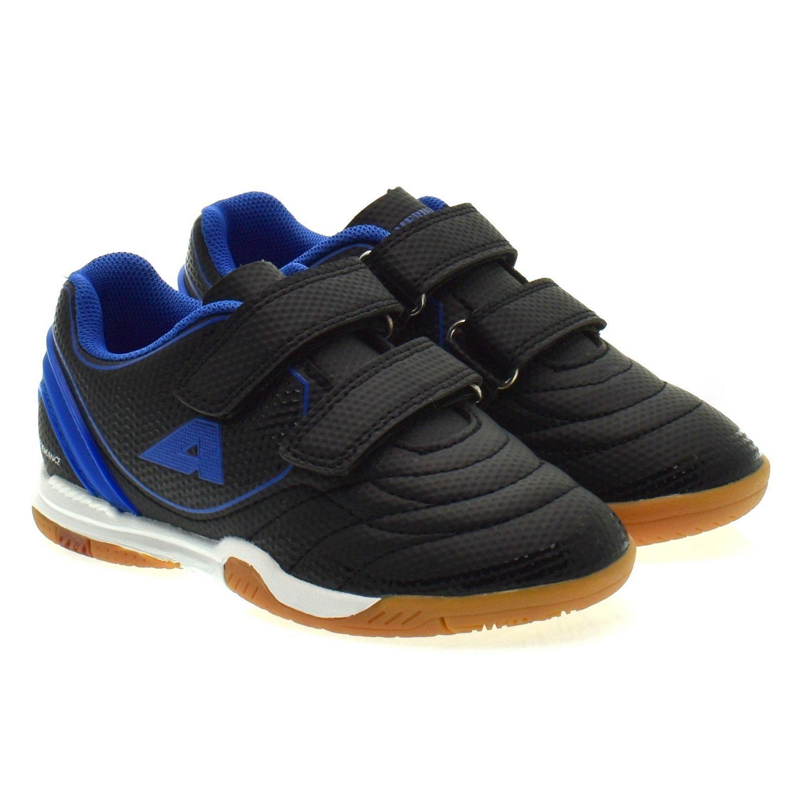 Chlopiece Buty Sportowe Halowki American Club 28 20 Royal Czarny Niebieski 5663 Sklepdorotka Pl