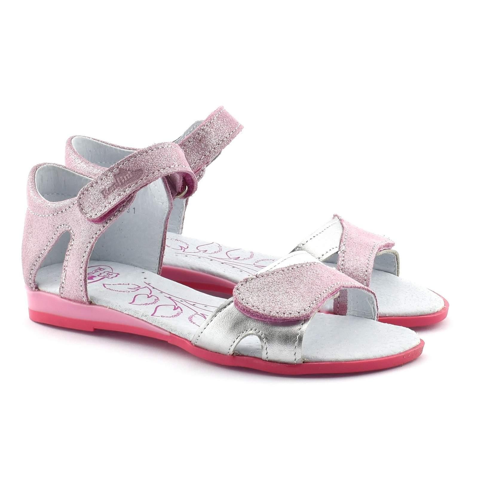 sandały skorzane sportowe 31 dla dziewczynki