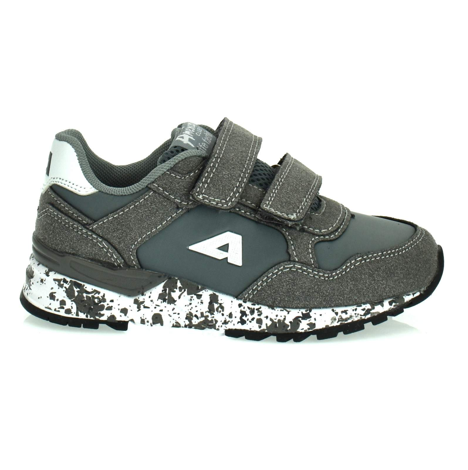 76085eba39f385 ... Sportowe buty dla dzieci American Club BS 12/19 Szary Kliknij, aby  powiększyć ...