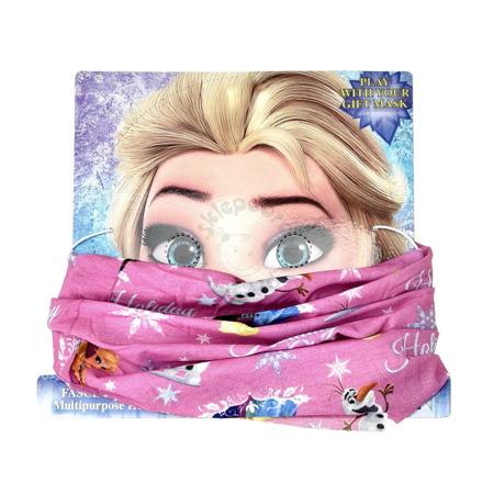 Bandana dla dzieci z postaciami z bajki Frozen-Kraina Lodu
