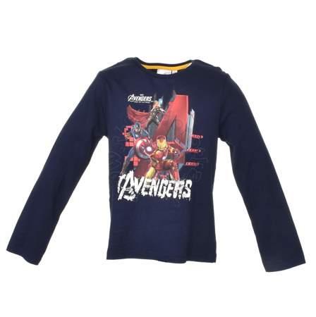 Bluzka dziecięca z długim rękawem Avengers
