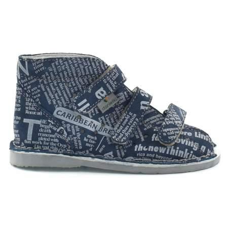 Dziecięce buty profilaktyczne Danielki T105L/T115L Jeans