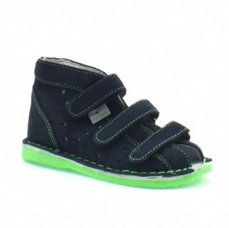 Dziecięce buty profilaktyczne Danielki TX105/115 Granat Fluoz