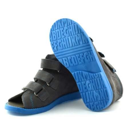 Dziecięce buty profilaktyczne Dawid 1043 szare