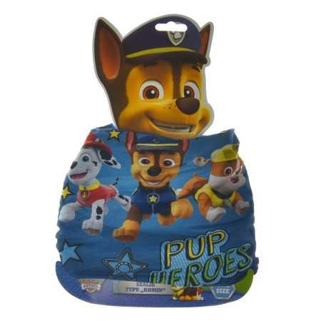 Komin dziecięcy dwuwarstwowy Psi Patrol Blue