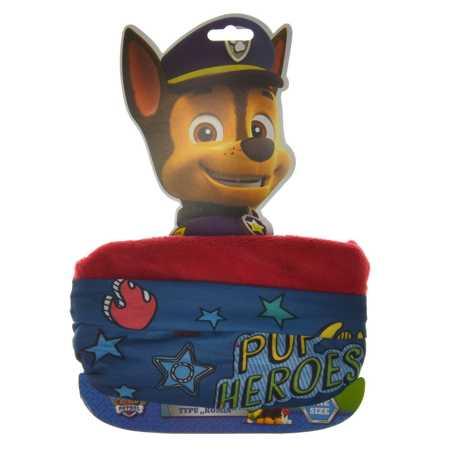 Komin dziecięcy dwuwarstwowy Psi Patrol Red