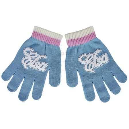 Komplet dla dzieci - czapka, szalik i rękawiczki Frozen - Kraina Lodu - Elsa
