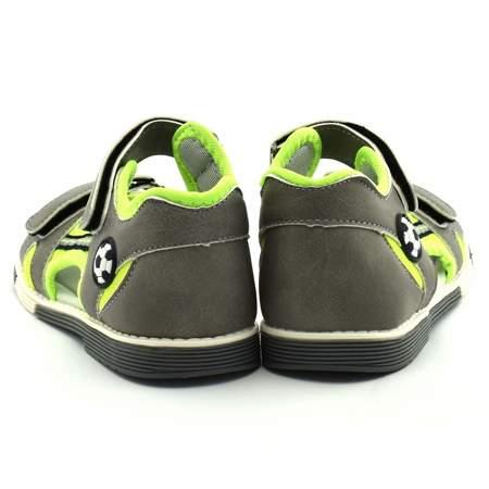 Sandały dla dzieci Wojtyłko 1109 Szare