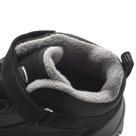 Śniegowce dziecięce American Club WT77/20 Softshell Czarne