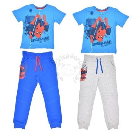 Zestaw dziecięcy  T-shirt i spodnie dresowe Spider-Man
