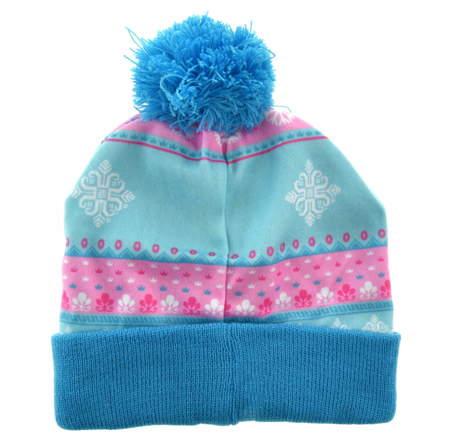 Zimowa czapka dla dzieci Frozen Kraina Lodu